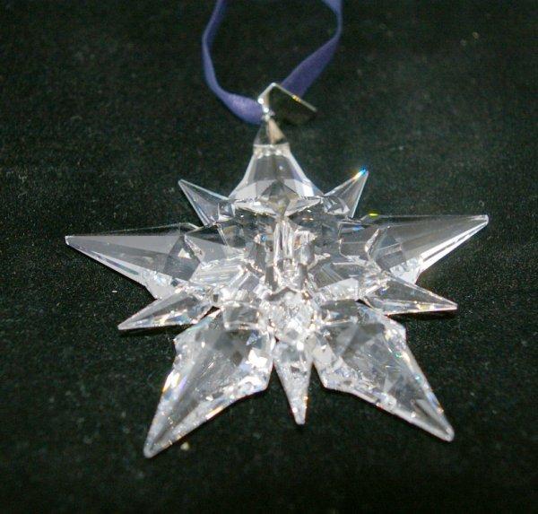 7: Swarovski Christmas Ornament 2001