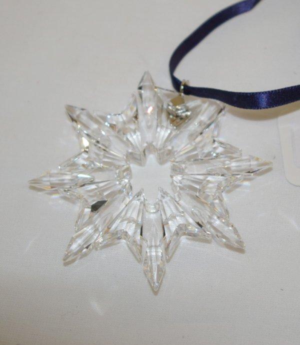 7A: Swarovski Christmas Ornament 2003