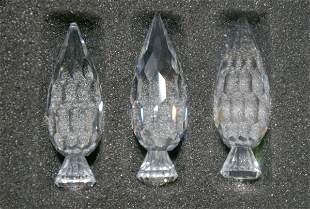 Swarovski Silver Crystal 3 Trees