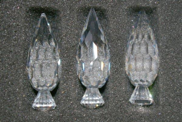 11: Swarovski Silver Crystal 3 Trees