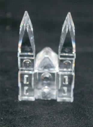 Swarovski Silver Crystal Church