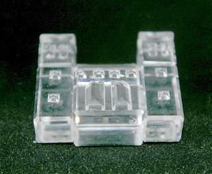 Swarovski Silver Crystal Building