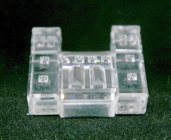 14: Swarovski Silver Crystal Building