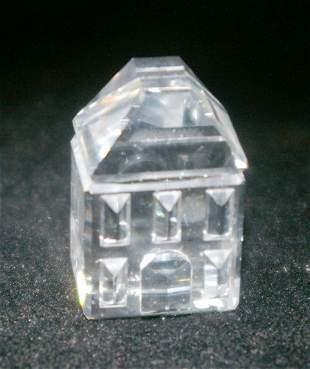 Swarovski Silver Crystal House