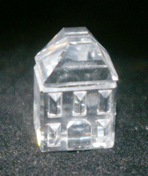 16: Swarovski Silver Crystal House
