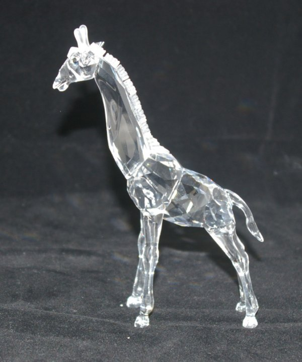 19: Swarovski Silver Crystal Giraffe