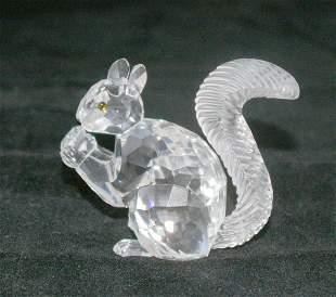 Swarovski Silver Crystal Squirrel