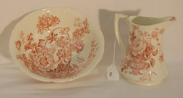 """103: Alfred Meakin, Staffordshire England """"Charlotte"""" p"""