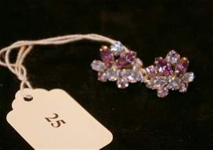 Pair of Sherman earrings