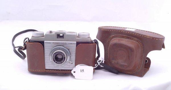 15: Kodak Pony 135 camera