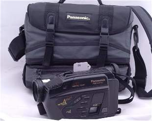 Panasonic Palmcorder in case