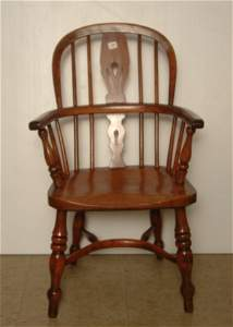 329: Child's Windsor style chair - Not Responsible for
