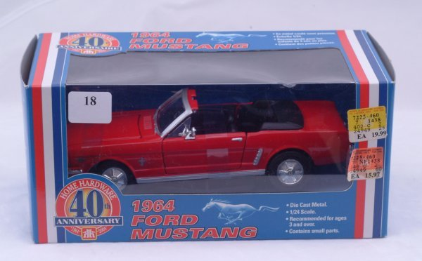 1018: Home Hardware 40th Anniversary - 1964 Ford Mustan