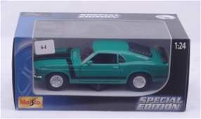 1064: Maisto Special Edition 1970 Ford Boss Mustang
