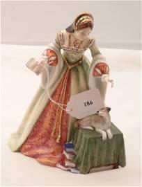 186: Royal Doulton, Lady Jane Grey, HN 3680 #659/5000