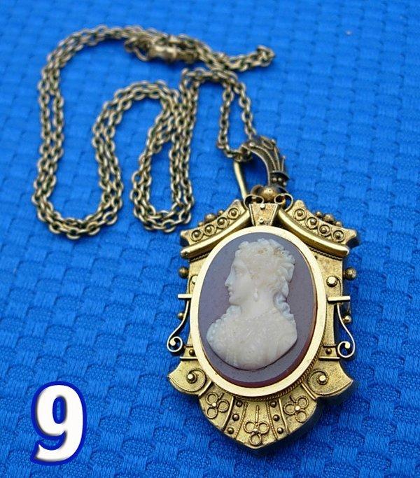 1009: Victorian Pendant/Brooch