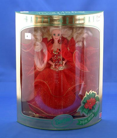 4D: MATTEL 1993 HOLIDAY BARBIE SPECIAL EDITION
