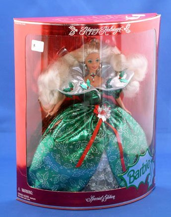 5: MATTEL 1995 HOLIDAY BARBIE SPECIAL EDITION