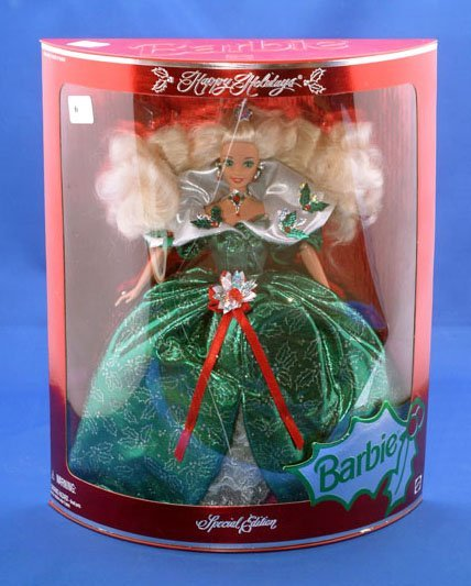 6: MATTEL 1995 HOLIDAY BARBIE SPECIAL EDITION
