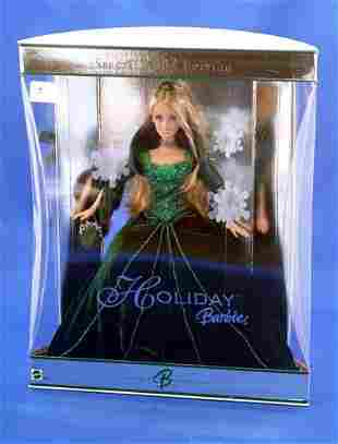 MATTEL 2004 HOLIDAY BARBIE BARBIE B COLLECTOR