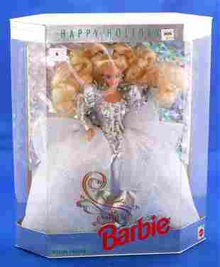MATTEL HAPPY HOLIDAYS SPECIAL DOLL STAND INCLUDED