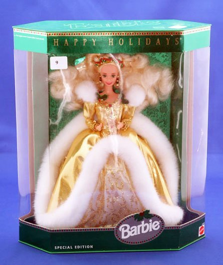9: MATTEL 1994 HOLIDAY BARBIE SPECIAL EDITION