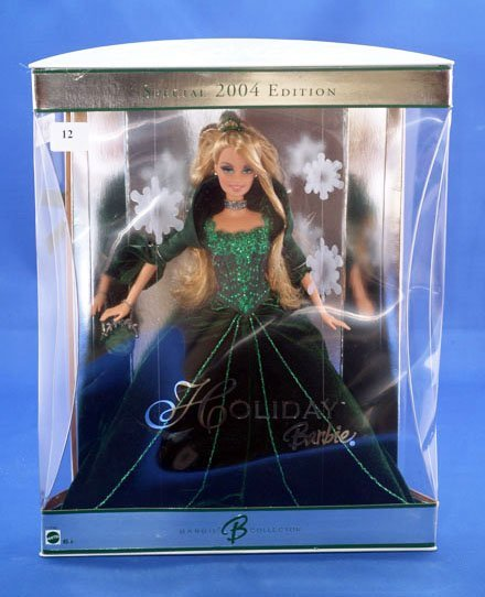 12: MATTEL 2004 HOLIDAY BARBIE BARBIE B COLLECTOR