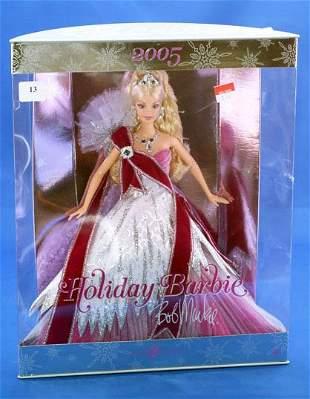 2005 HOLIDAY BARBIE, BOB MACKIE DESIGNER