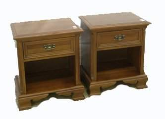 489: PAIR OF GIBBARD CANADIAN LEGACY NIGHT TABLES (SELL