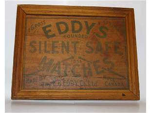 Wooden Advertising Sign