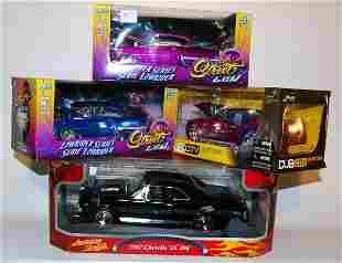 Four Die cast Model Cars