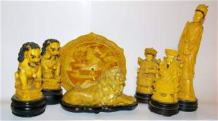 Collection of Oriental Figurines