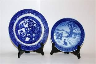 Doulton and Copenhagan Plates