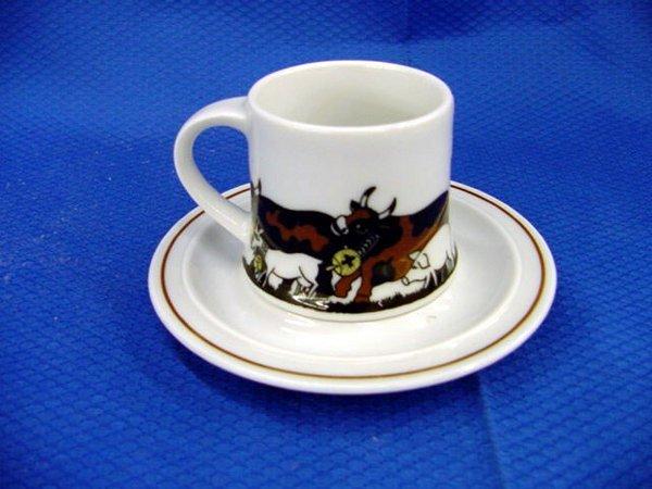 5: Swiss Langenthal Demi-Tasse Cup & Saucer