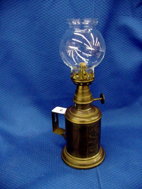 7: French Olympic Wall Hanging Oil Lamp