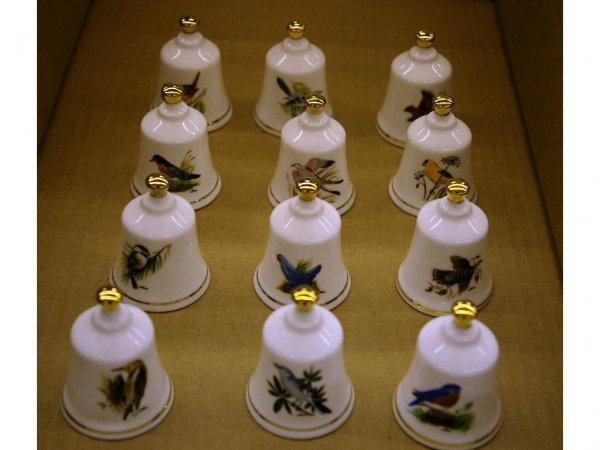12: Danbury Mint Bells