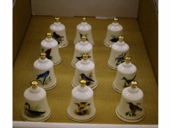 13: Danbury Mint Bells
