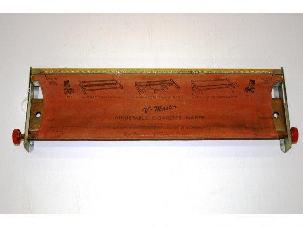 1002: V-Master Adjustable Cigarette Maker