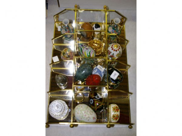 1005: Collectable Eggs with Glass Display