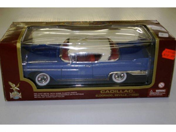 1006: Cadillac Eldorado Seville (1958) Model Car
