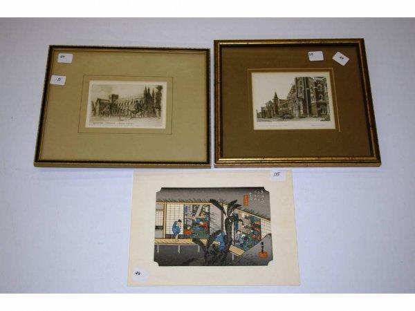 1015: Three Small Prints