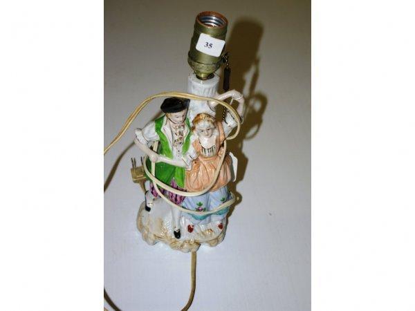 1022: Figural Lamp