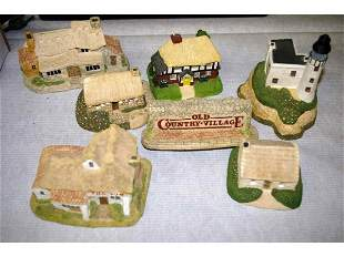 Seven Old Country Village Collectables