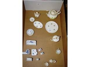 Children's Tea Sets & Dollhouse Furniture