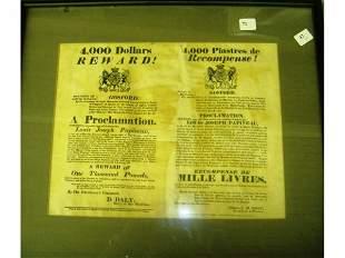 1837 Pre-Confederation Proclamation
