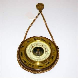 Vintage Fisher Barometer