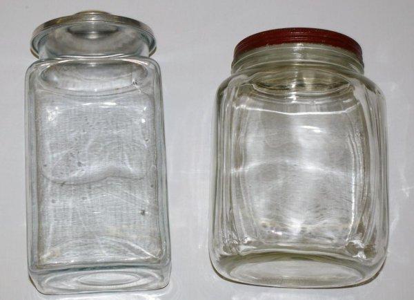 6: Pair of Storage Jars
