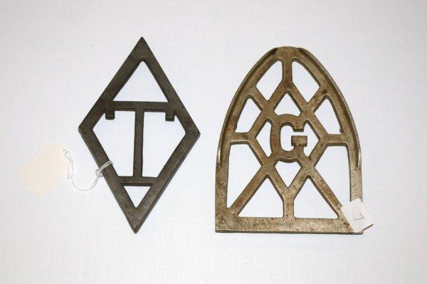 7: Metal Trivets