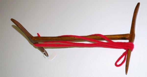 19: Antique Wood Skeiner