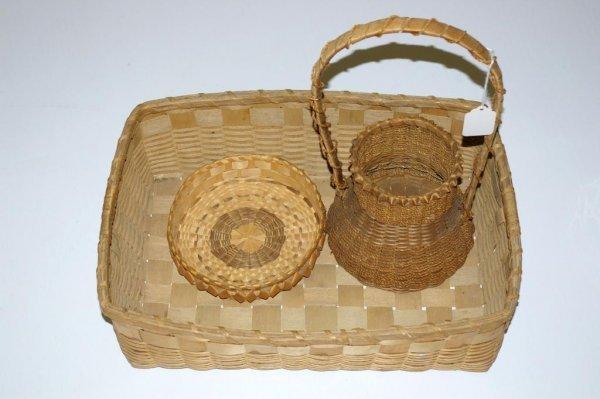20: Vintage Native Basket